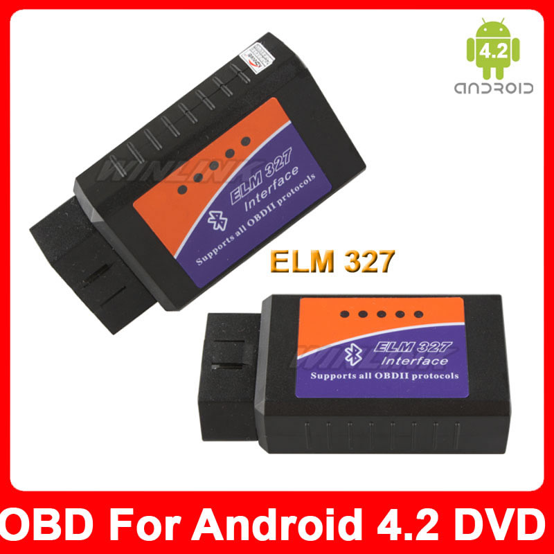 2015 New Bluetooth ELM 327 OBD2 / OBDII ELM327 Android OS Auto Diagnostic Scanner Tool Code Reader  -  Esson Technology store