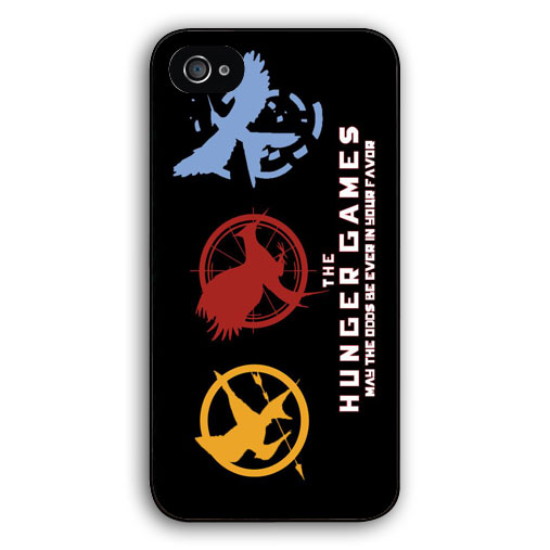 The Hunger Games Logo cover for Apple iPhone 6 6s plus 4 4s 5 5c 5s case for Samsung Galaxy S3/4/5/6/edge+ Note2/3/4/5/mini