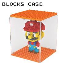 DIY display box for Minifigure LOZ block Diamond Building blocks showing case brick toy(China (Mainland))