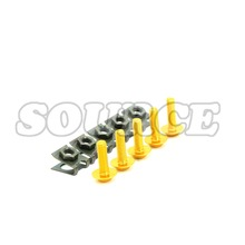6mm CNC Motorcycle Fairing body work Bolts Screws Suzuki SV1000 S GSF1200 GSF1250 07-15 DL1000 02-15 sc tmax530 tmax500 - Source ATV store