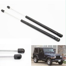 2pcs Auto Rear Window Glass Lift Supports Gas Struts Spring for Jeep Wrangler TJ 1997-2006 Sport Utility With Hardtop