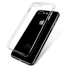 Buy Esamday iPhone 7 7Plus Ultra Thin Soft Transparent Slim Crystal Clear TPU Silicone Protective sleeve i7/7Plus cover case for $4.28 in AliExpress store