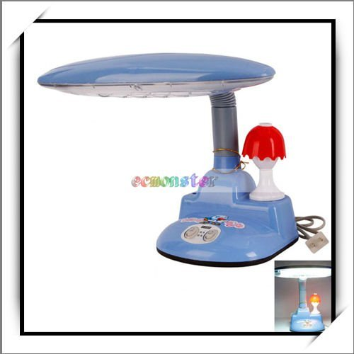 Free Shipping,Practical Innovation Eye Protection Study Desk Lamp Two Lights Open,JA003