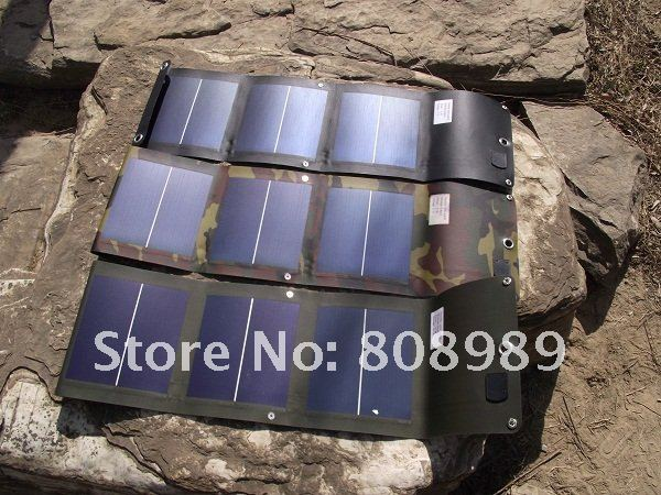 Фотография High Quality Flexible Solar Panel Charger+5W Foldable Solar Charger+USB Output Battey Charger+Waterproof  New Free Shipping