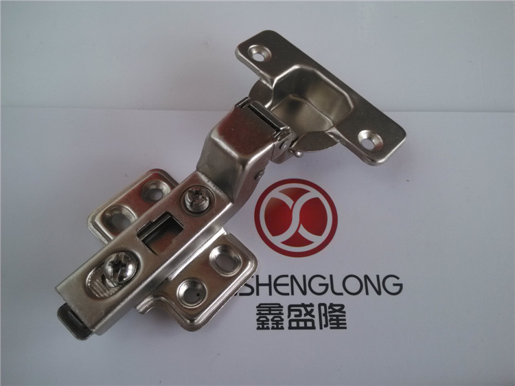 Long Xinsheng brand manufacturers supply dump furniture door spring 35 cups of cold rolled steel nickel-plated hinges(China (Mainland))
