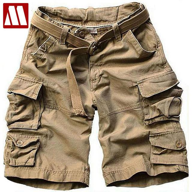 2016 Summer Men New Style Board Shorts High Quality Mens Cargo Shorts Casual Shorts with belt 10 Colors size S M L XL XXL XXXL