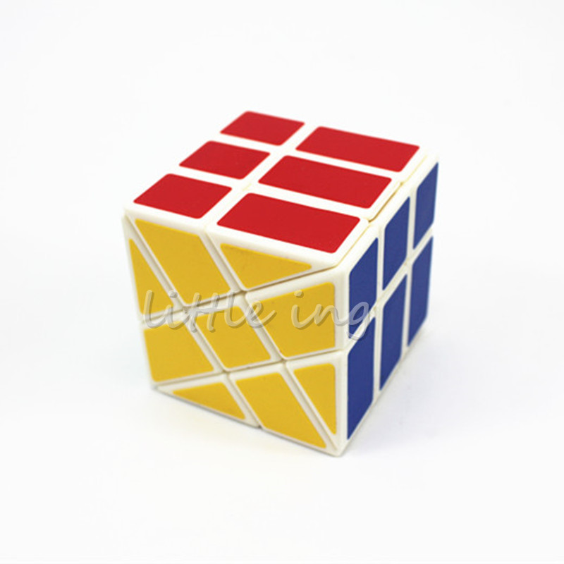 YongJun Professional 3*3*3 Hot Wheels magic cube speed educational shape new toys free shipping for kids/collectors gift(China (Mainland))