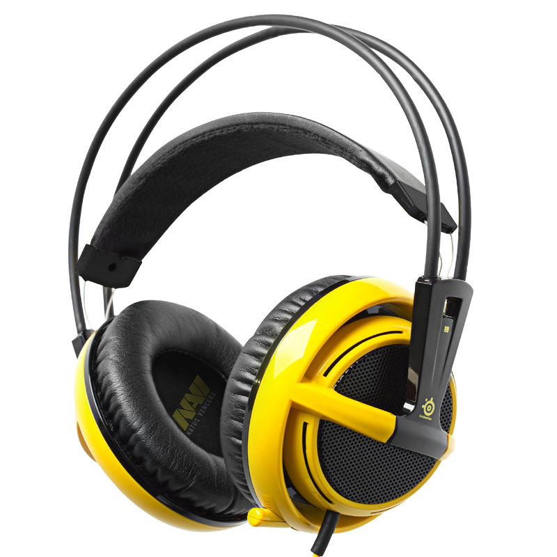 SteelSeries Siberia V2 Professional Gaming Headset and microphone headphone phone headset with 2M Cable Free & Fast Shipping(China (Mainland))