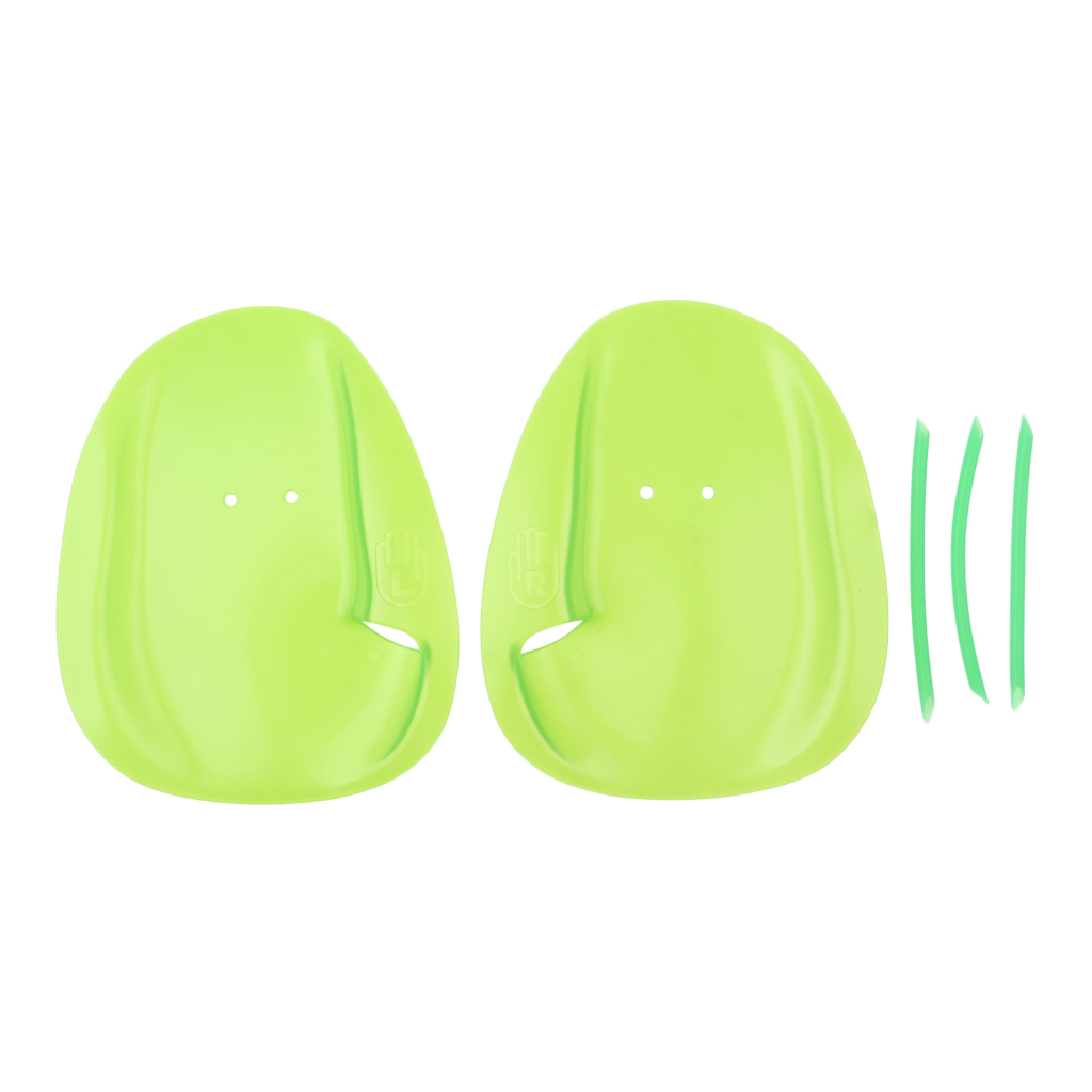 1 Pair Professional Swimming Paddles with Hand Paddle Strap Hand Webbed Gloves Padel Flippers For Men Women Kids Learn Swim Gear