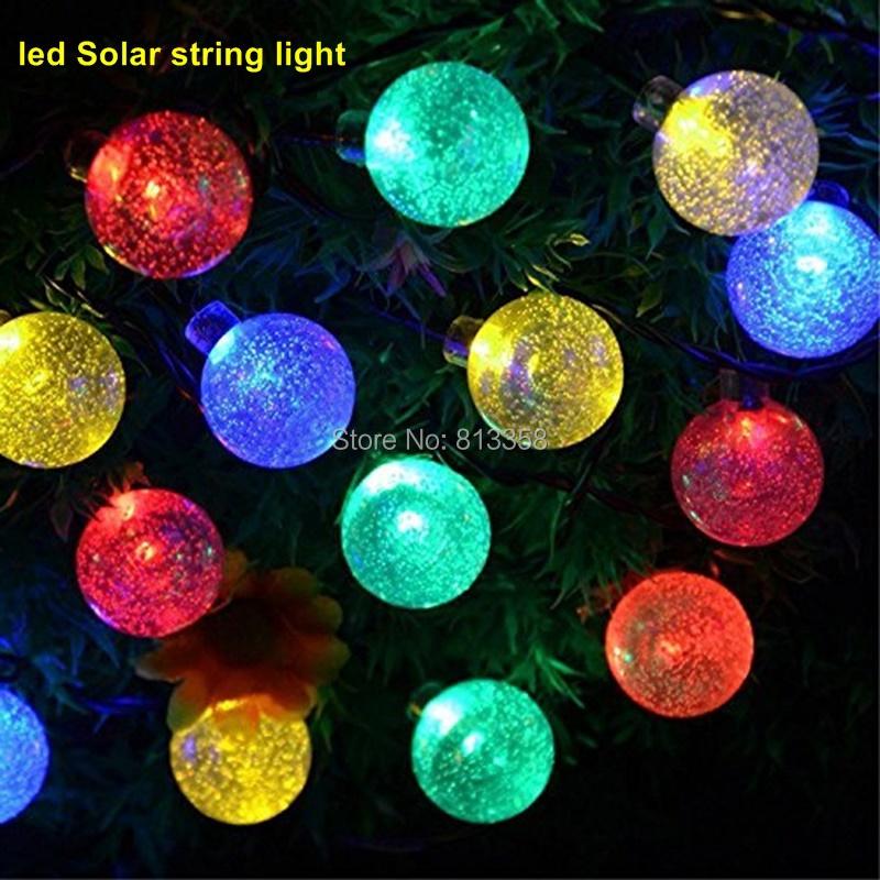 Solar Led String Lights : Aliexpress.com : Buy 4set 30 LED 6M led solar string lights outdoor Solar string light ...