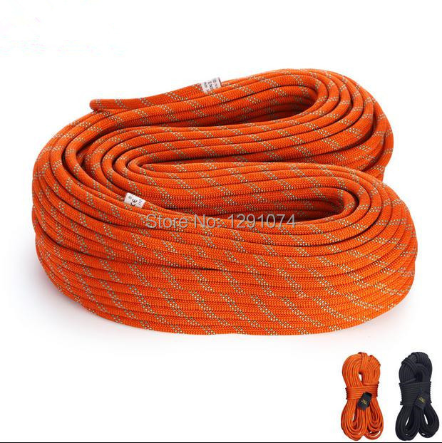 33KN Static Rope 12mm Outdoor Climbing Rope Rescue Safety Rappelling Rope Rock Climbing Caving Drifting Rope 10M/pcs(China (Mainland))