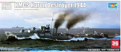 Trumpeter 05333 Canadian Navy ship model USS Huron 194430cm long(China (Mainland))