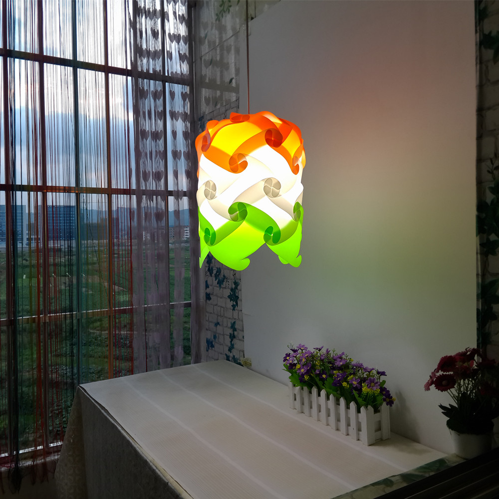 NEW Pineapple Modern Contemporary DIY Elements IQ Jigsaw Puzzle ZE Lamp Shade Ceiling Pendant Ball