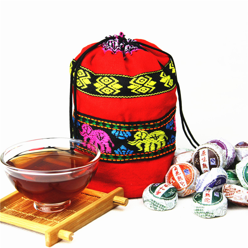 50pcs Mini Yunnan Puer tea ,10 Different Tastes Chinese tea, Health Care Cooked Raw puerh Tea 100% natural,Slimming tea gift<br><br>Aliexpress