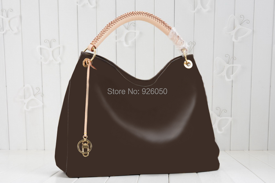 The most classic monogram canvas Artsy MM 40249 shoulder bag lady 's hobo bag(China (Mainland))