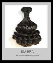 Isabel hair 7A double drawn Nigerian aunty funmi hair 3 pcs lot,soft,no tangle,no shedding brazilian spiral curl funmi hair(China (Mainland))