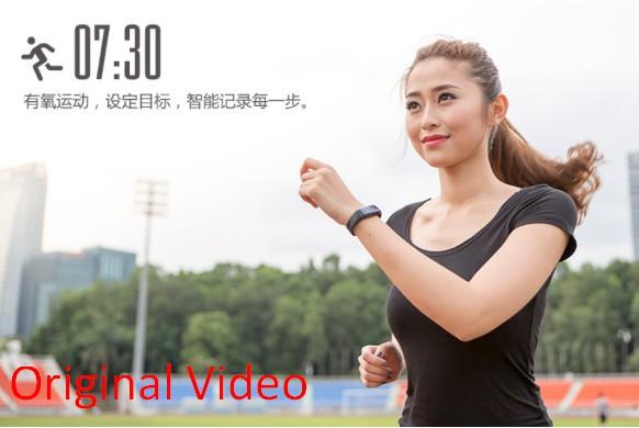 2016 Hotest Mini Lifesense Mambo Heart Rate Monitor Sport Wrist Band Sleep Tracker Smart Band Bluetooth Bracelet for iOS Android(China (Mainland))