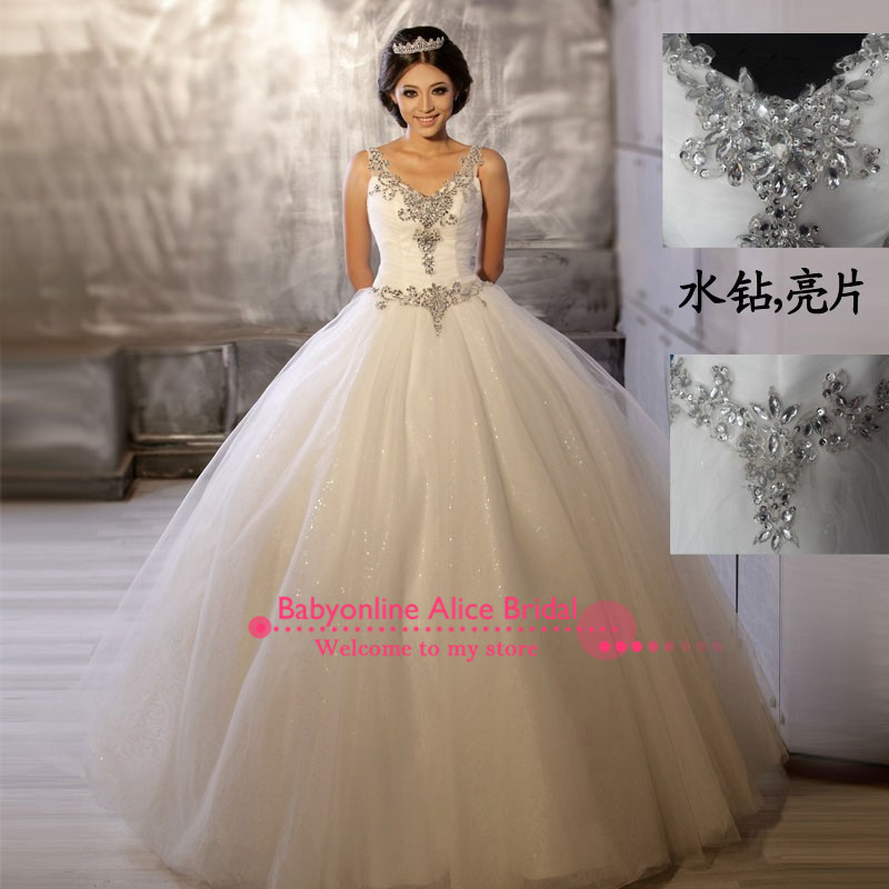 Ball Gown Wedding Dresses With Sparkles - Design Your Wedding Dress