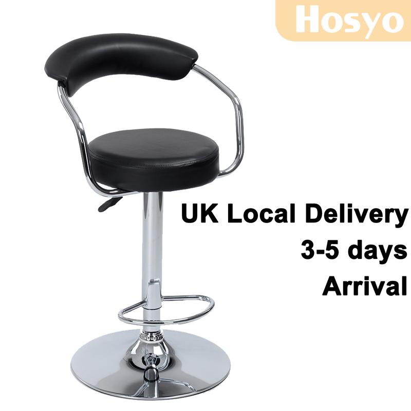 Bar stool Swivel chair Pub stool adjustable Footrest  : Bar stool Swivel chair Pub stool adjustable Footrest Contemporary Low Back Black 360 Height Adjustment Footrest from www.aliexpress.com size 800 x 800 jpeg 154kB