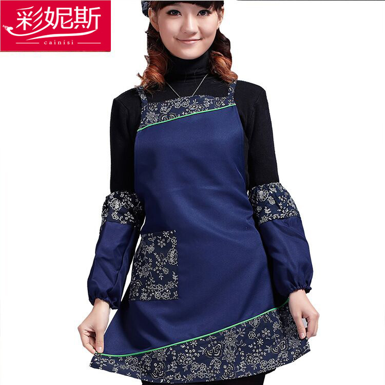 2016 hotel restaurant waiter apron cotton antifouling contracted national wind ancient ways natural environmental protection(China (Mainland))