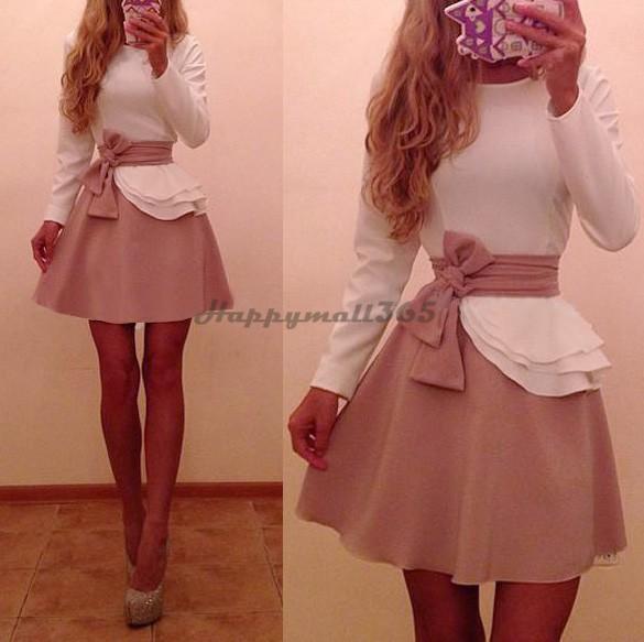 de Festa Casual Dress Lady