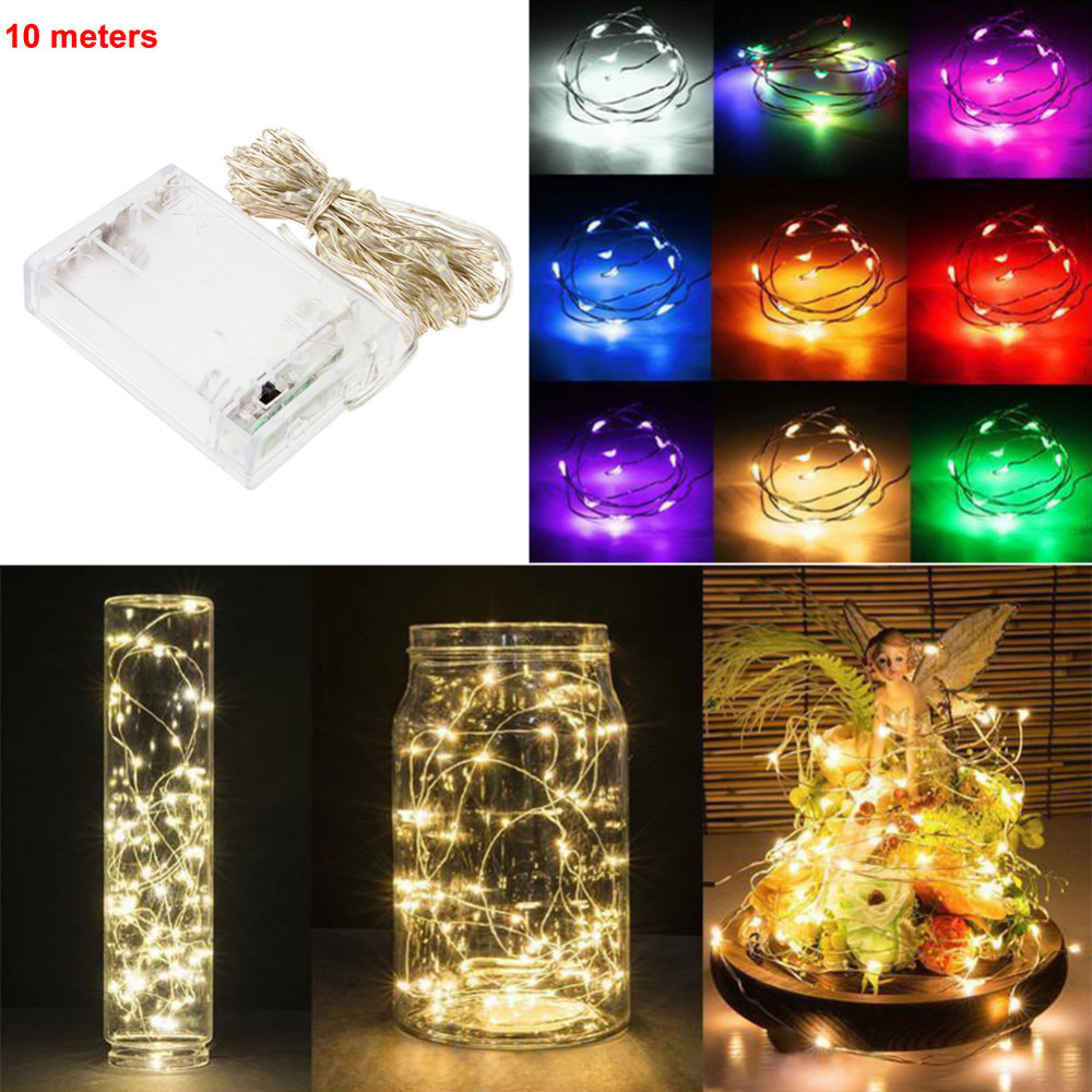 3AA-Battery-Powered-10M-100-led-LED-Silver-Color-Copper-Wire-Fairy-String-Lights-lamp-for