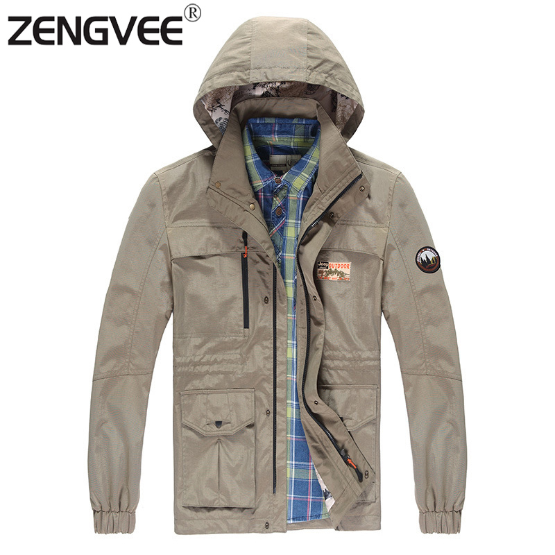 High Quality 2016 New Men Autumn Jacket Fashionable Casual Sportswear Cardigan Hooded Solid Color Windbreaker-Free Shipping(China (Mainland))