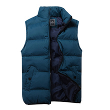 Top brand Men's Cotton Vest Spring 2014 New Fashion Casual Sleeveless Jacket Waistcoat 4 Colors Plus Size  free shipping(China (Mainland))