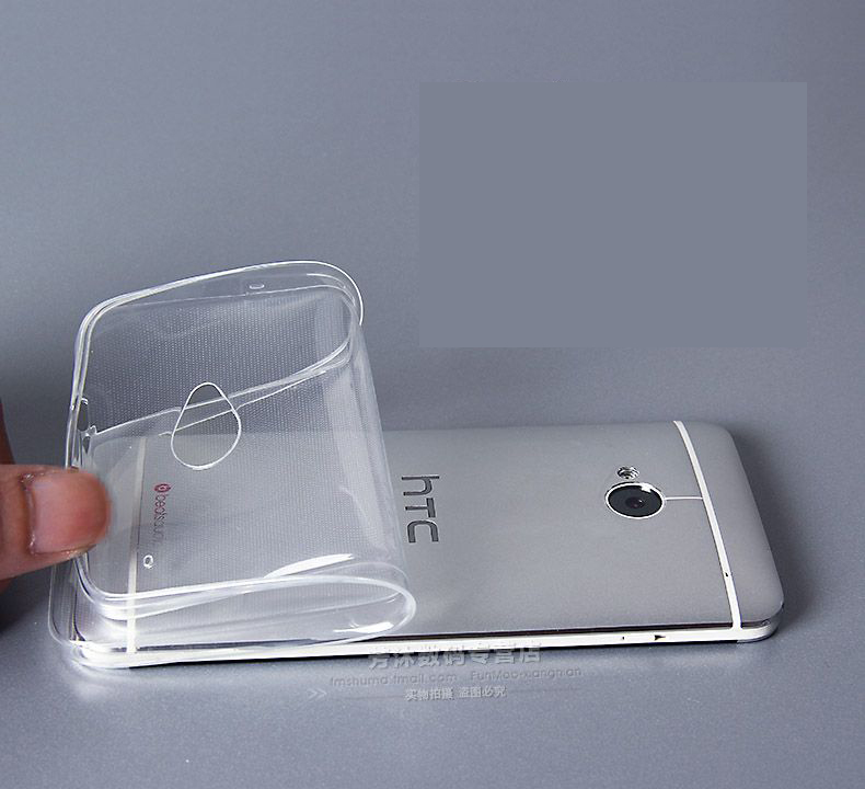 0.3mm Crystal Clear Transparent Soft Silicone TPU Case Cover for HTC One M7 M8 M9 M8mini E8 Eye Desire 820 D820(China (Mainland))