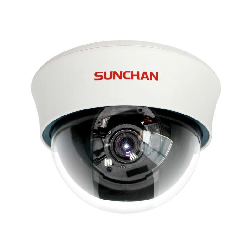 "SunChan 1/3"" 800TVL 2.8-12MM Varifocal Lens CCTV Dome Camera Security Indoor Video Surveillance Dome Cameras Indoor Dome Cams(China (Mainland))"