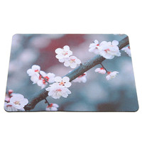 220x180mm Portable Gaming Mouse Pad Flowers Anti Slip Gamer Mousepad Keyboard Table Rubber Mice Mat for Laptop PC Computer Gamer