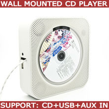 in wall mounted cd player support CD, MP3, USB and AUX in(China (Mainland))