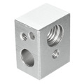 For Ultimaker 3D Printer Hot End Pack nozzle J-head with PEEK &Heating block for 1.75mm /3.mm 3D Printer Accessories