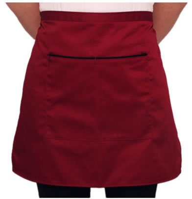 man and woman's Half apron for coffee shop/kitchen/hotel waiter aprons one size cook fashion Short apron Free Shipping(China (Mainland))