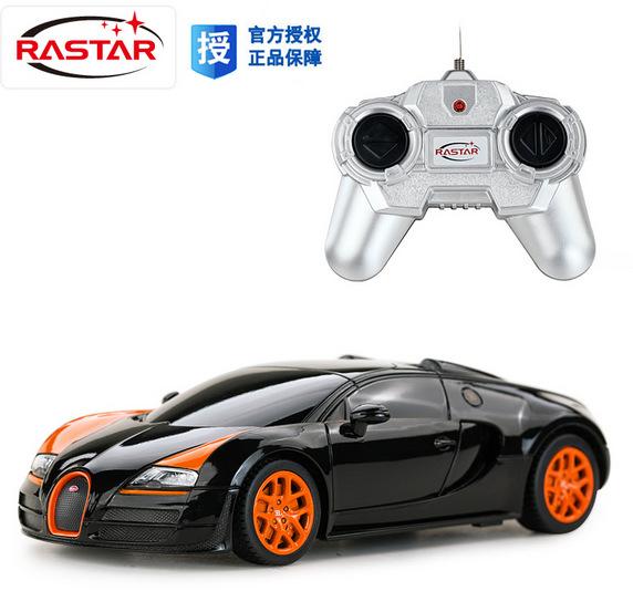 2016 New rc car kids toys remote control cars drift scale models radio controlled rastar 47000 1/24 bugatti veyron free shipping(China (Mainland))