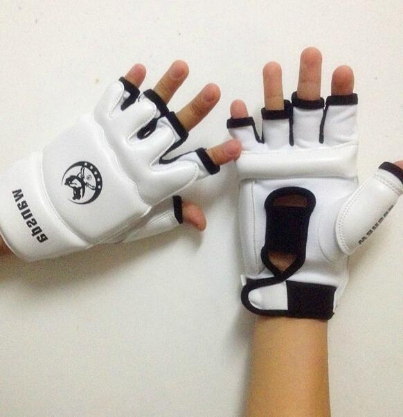 product Taekwondo Gloves Karate Glove Boxing Gloves Semi-finger Adult Gloves