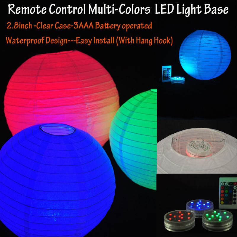 free shpping 2014 battery operated remote controlled led. Black Bedroom Furniture Sets. Home Design Ideas
