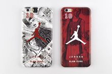 For iphone 6 6plus phone case soft TPU material of NBA Jordan and slam dunk design case for iPhone 6 6plus back cover(China (Mainland))