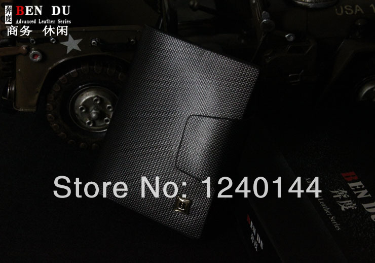 Free Shipping Genuine Leather 2015 Autumn New Arrival High Quality Bags Hot Sale Wallet Men Leather