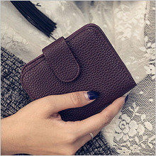2016 New Arrive Wallets Woman's Casual PU Leather Fashion Brand Purses Wallet Female Handbag Clutch Card Holder Gift S266