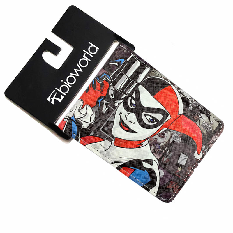 DC Comics Wallet Movies Suicide Squad The Joker Harley Quinn Enchantress And Bat Man Short Wallets With Card Holder Purse