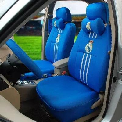 Real Madrid Car Seat Sport Cover Butacas Deportivas(China (Mainland))