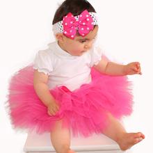 Tutu Skirts Baby Girl Pettiskirt 2015 Cute Yarn Newborn Girl Skirts Clothes Mini Bow Short bebe clothing(China (Mainland))