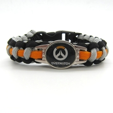 Buy 2016 New Arrival Overwatch Paracord Bracelets OW Hot Game Rope Chain Fashion Handmade Jewelry Women Men fans High for $2.79 in AliExpress store