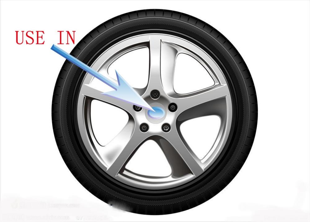New 4Pcs Car VW Stickers Wheel Center Fits Hub Cap Stickers 55mm VW wheel center emblems for polo golf 4 passat b5 touran bora(China (Mainland))