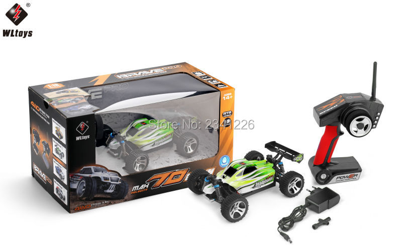 Amazing RC Buggy 1/18 Scale 4WD Full Proportion Electronic Brushed WLtoys A959-B(China (Mainland))