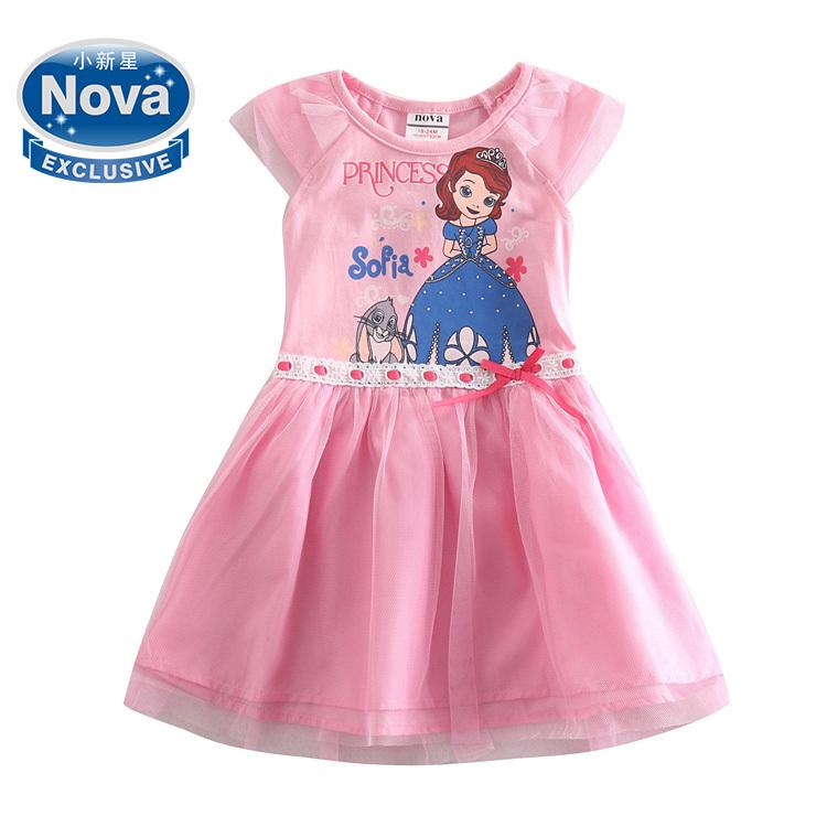 Платье для девочек NOVA vestidos H5001