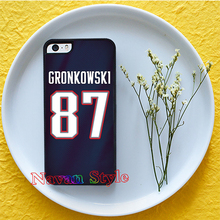 rob gronkowski jersey 4 original cell phone case cover for iphone 4 4s 5 5s 5c 6 6 plus 6s 6s plus *gG158(China (Mainland))