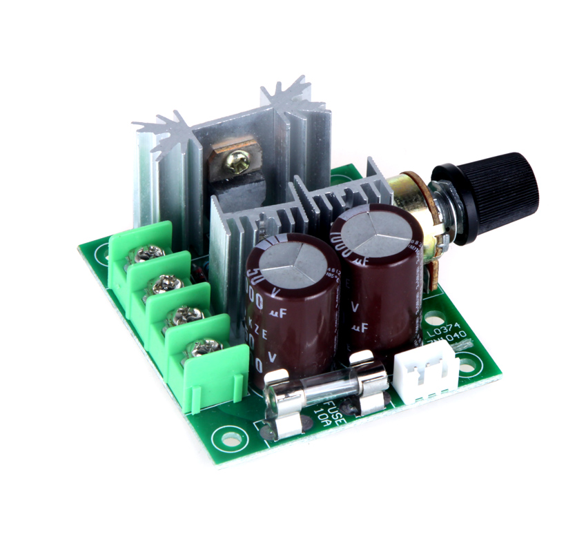 High Quality Motor Speed Control Switch 12V-40V 10A Motor Controller Pulse Width Modulation PWM DC Motor Control Switch 13KHz(China (Mainland))