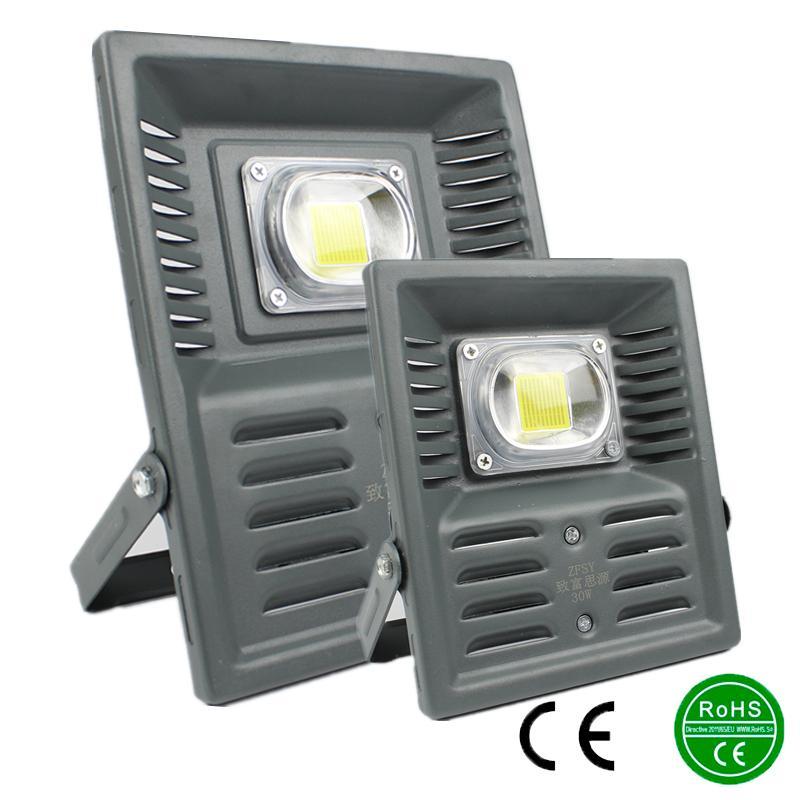 New perfect power LED Flood Light Floodlight LED street Lamp AC85-265V 30W 50W waterproof Landscape Lighting IP65 led spotlight<br><br>Aliexpress